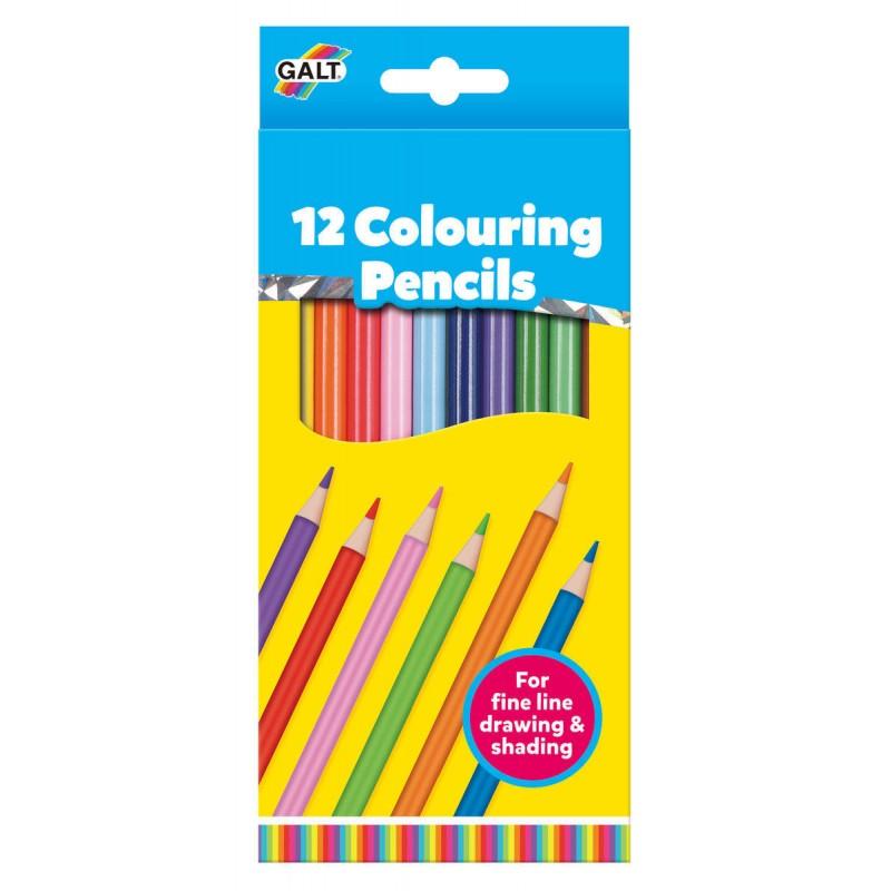Set 12 creioane de colorat Galt, 4 ani+ 2021 shopu.ro