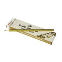 Set 12 creioane hexagonale Goldline Heutink, auriu metalic