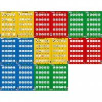 Set 16 Puzzle-uri 0-20 Larsen, 25 Piese