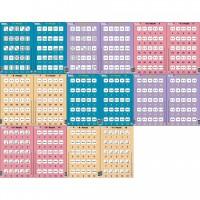 Set 16 Puzzle-uri Inmultire si Impartire Larsen, 25 Piese