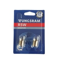 Set 2 becuri pozitie Tungsram BAU15S, 5 W, R5W