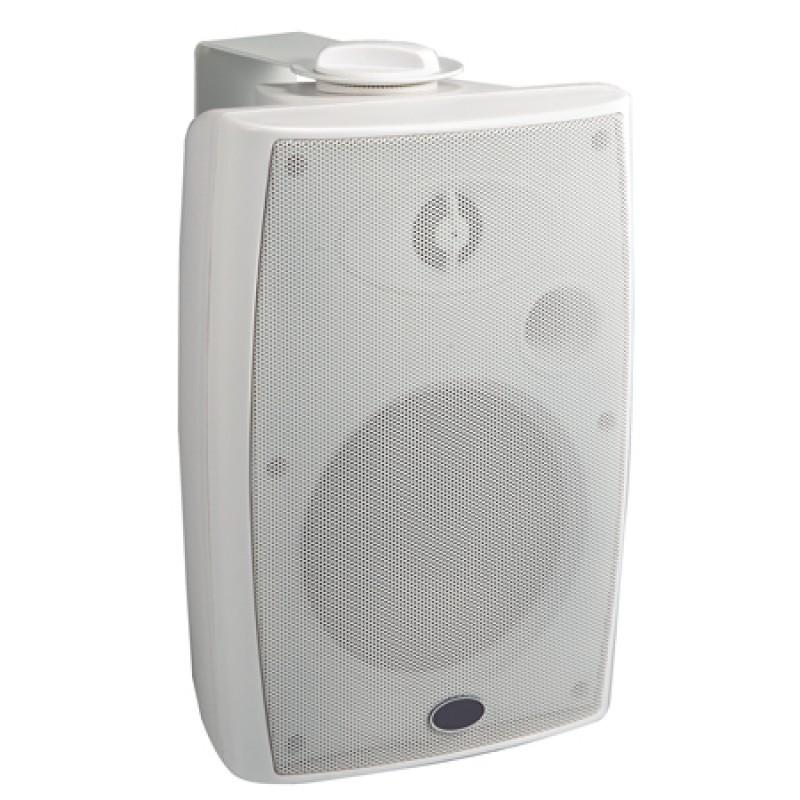 Set 2 Boxe pentru sonorizare, 4 inch, 20 W, montare pe perete, alb