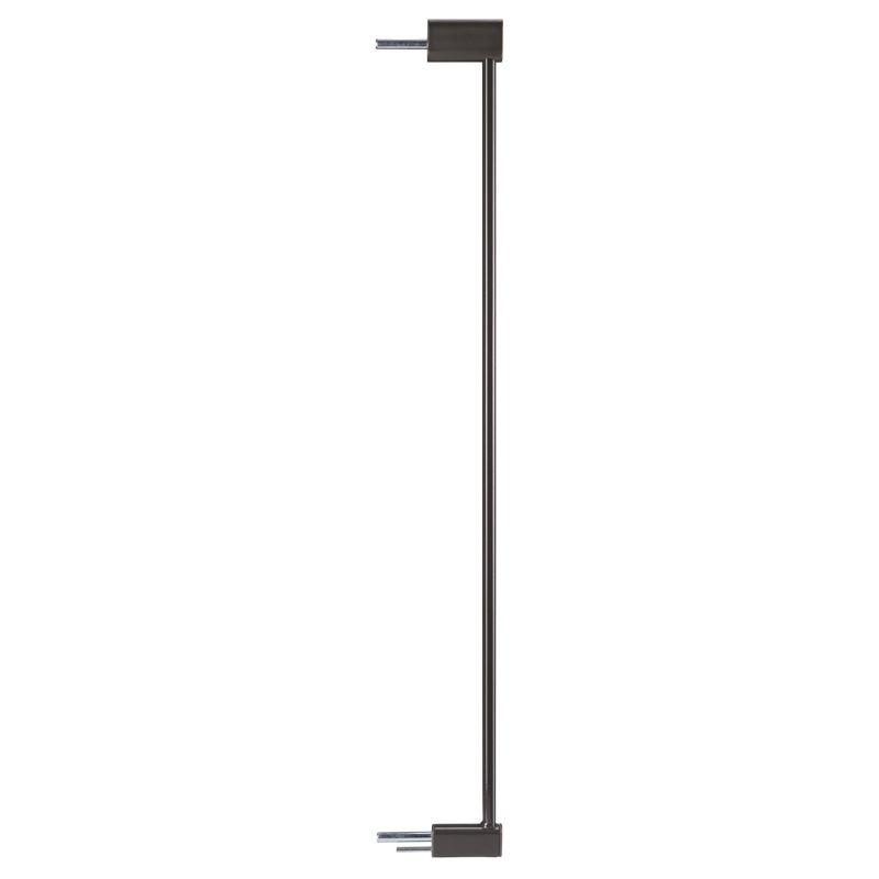 Set 2 extensii pentru porti de siguranta DesignLine Puristic Reer, 7 cm, metal gri antracit 2021 shopu.ro