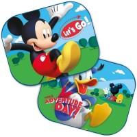 Set 2 parasolare auto Mickey Mouse, montaj usor, poliester, 44 x 35 cm