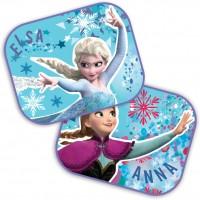 Set 2 parasolare Frozen Anna si Elsa, geamuri laterale, 44x35 cm