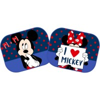 Set 2 parasolare Minnie and Mickey In Love Disney Eurasia, 44 x 35 cm, Multicolor