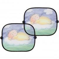 Set 2 parasolare sleeping baby Altabebe, 46 x 36 cm, poliester