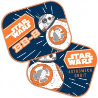 Set 2 parasolare Star Wars BB8 Seven SV9315, geamuri laterale