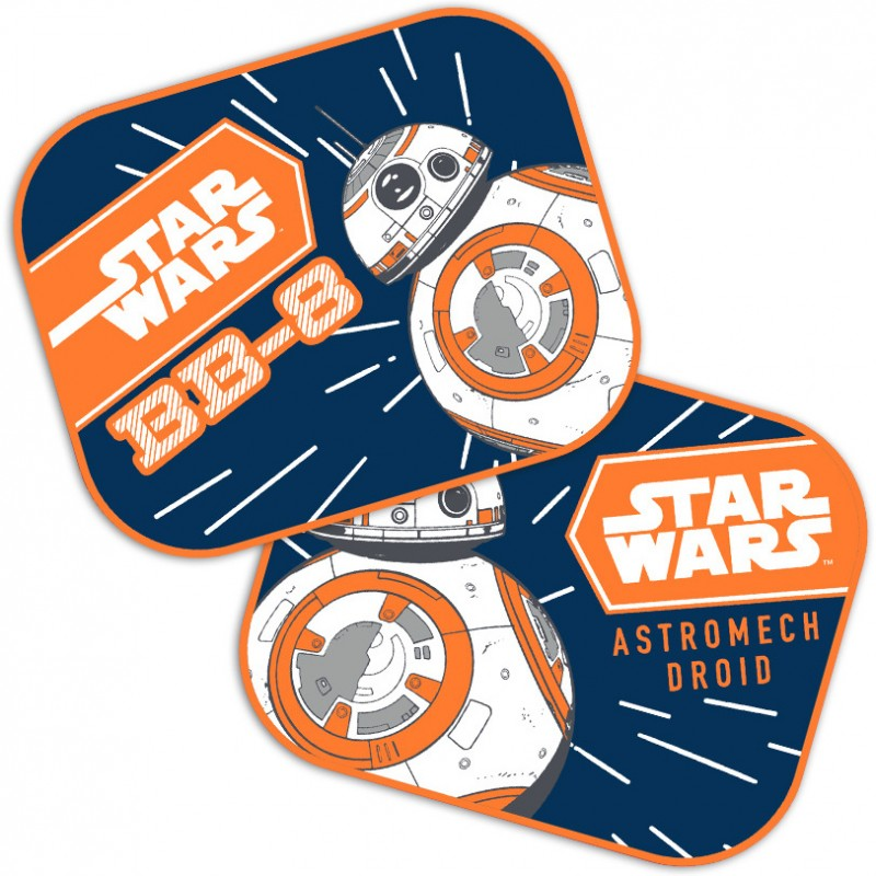 Set 2 parasolare Star Wars BB8 Seven SV9315, geamuri laterale 2021 shopu.ro