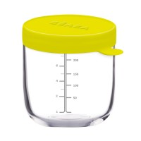Set recipiente ermetice sticla Beaba, 150 ml, 250 ml, 2 piese/set
