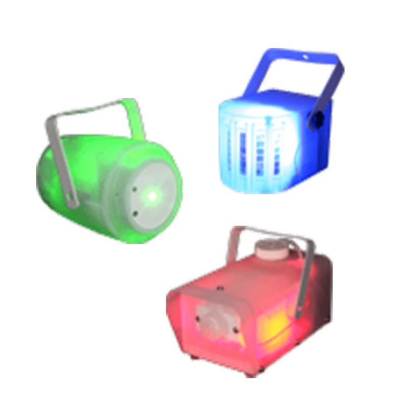 Set masina de fum, efect RGB si laser, telecomanda inclusa 2021 shopu.ro