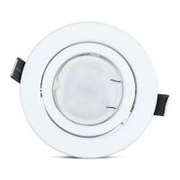 Set 3 spoturi LED, 5 W, 4500 K, 400 lm, forma PAR16, soclu GU10, lumina alb neutru