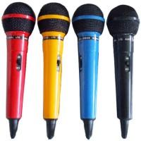 Set 4 microfoane cu fir DM400, 4 culori, unidirectionale