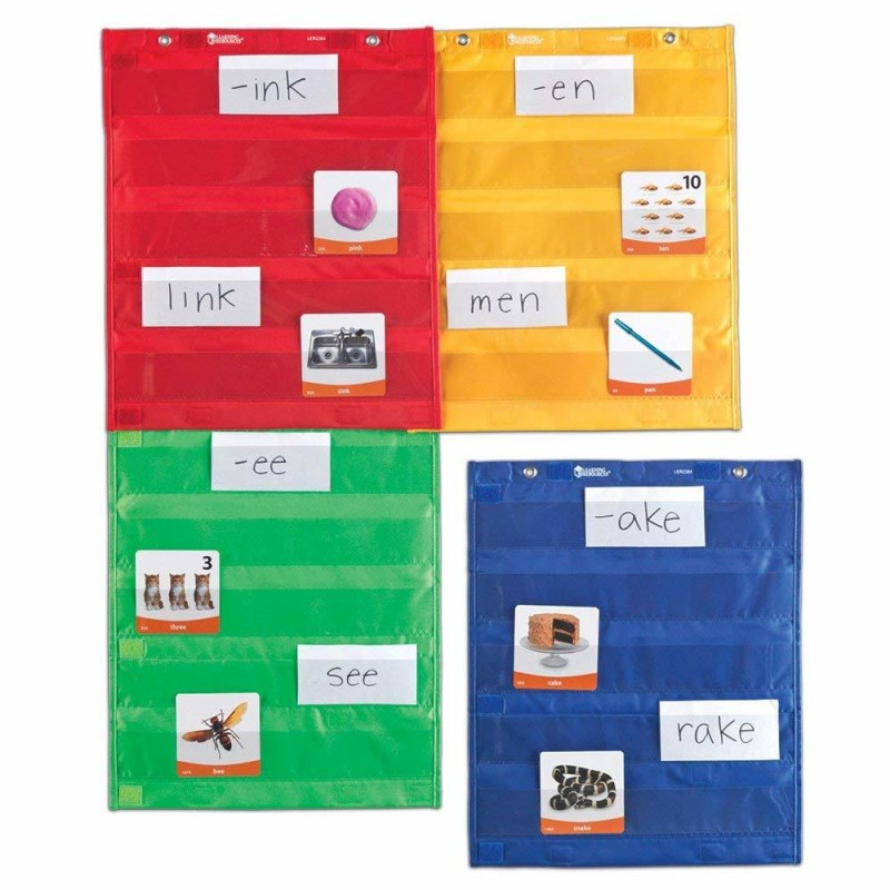 Set 4 panouri magnetice Learning Resources, 42 x 35 cm, 3 - 12 ani