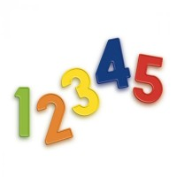 Set 48 cifre magnetice Quercetti