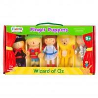 Set 5 Marionete pentru deget Vrajitorul din Oz Fiesta Crafts, 3 ani+