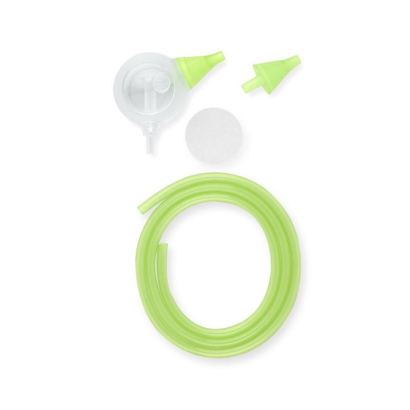 Set 6 accesorii aspirator nazal electric Nosiboo Pro, Verde 2021 shopu.ro