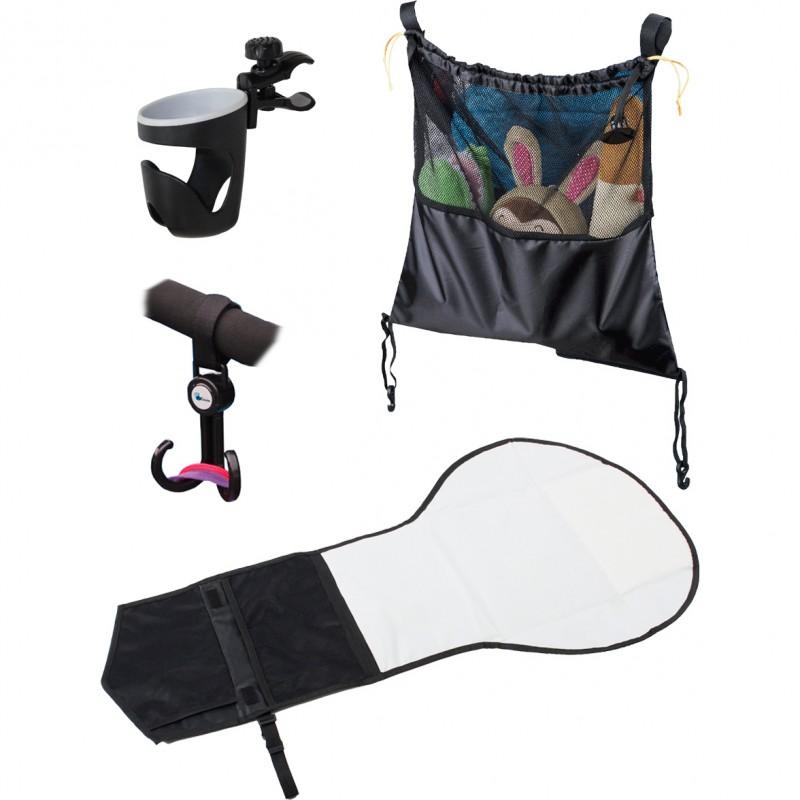 Set accesorii pentru carucior Altabebe, Negru 2021 shopu.ro