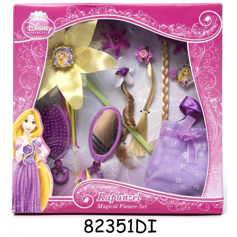 Set accesorii pentru par Rapunzel Magical Flower, 3 ani+ 2021 shopu.ro