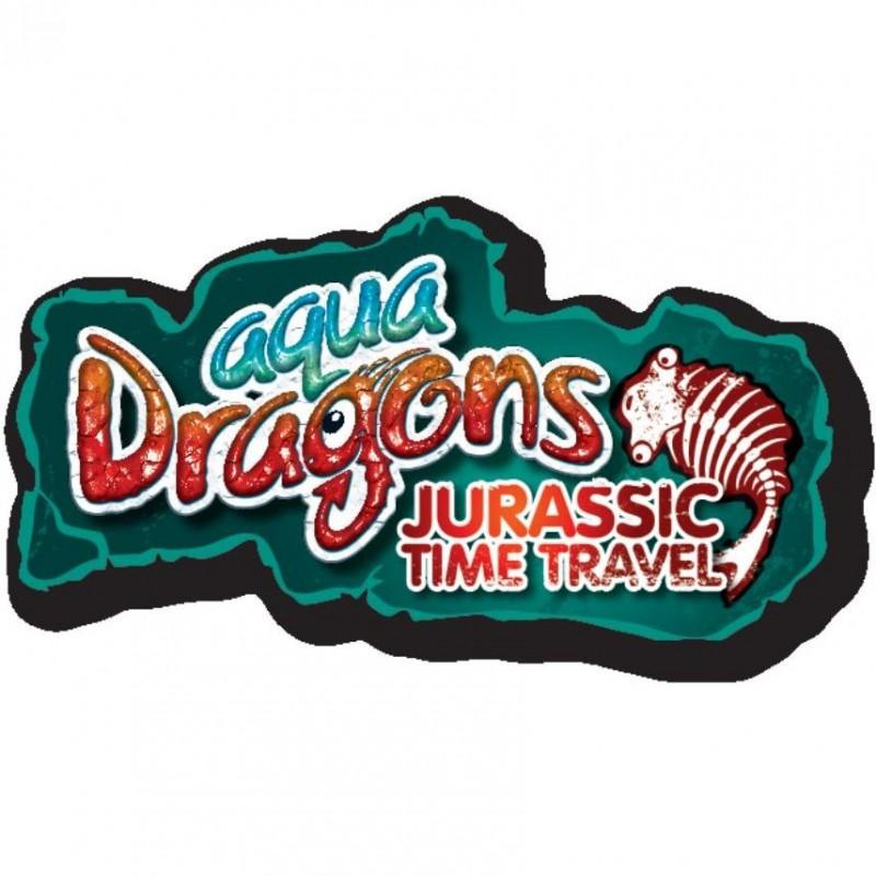 Set Acvariu Aqua Dragons Jurassic Time Travel EGGspress World Alive