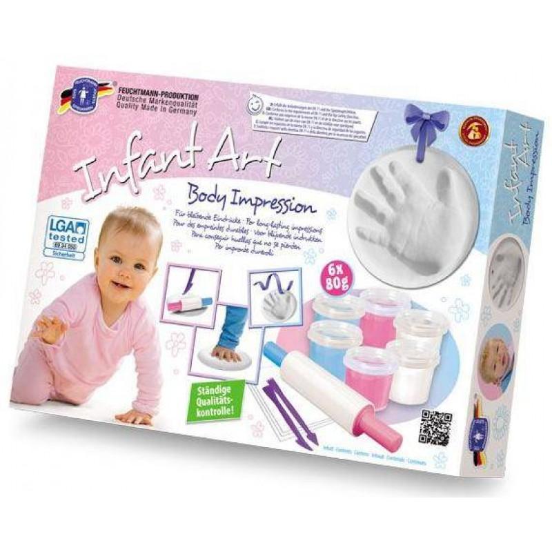 Set amprentare bebelusi Feuchtmann, non-toxice, 500 grame 2021 shopu.ro