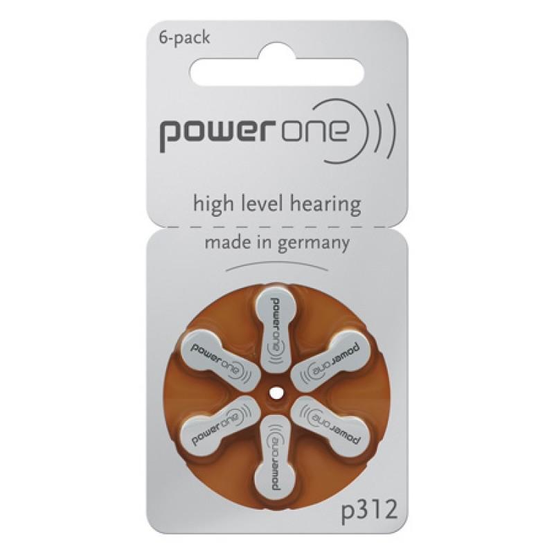 Set baterii Varta P312 pentru aparate auditive, 6 bucati 2021 shopu.ro