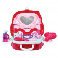 Set infrumusetare pentru fetite Beauty Boutique, 14 piese, Roz