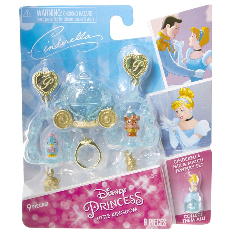 Set bijuterii asortate DP Little Kingdom, 3 ani+, model Cinderella 2021 shopu.ro