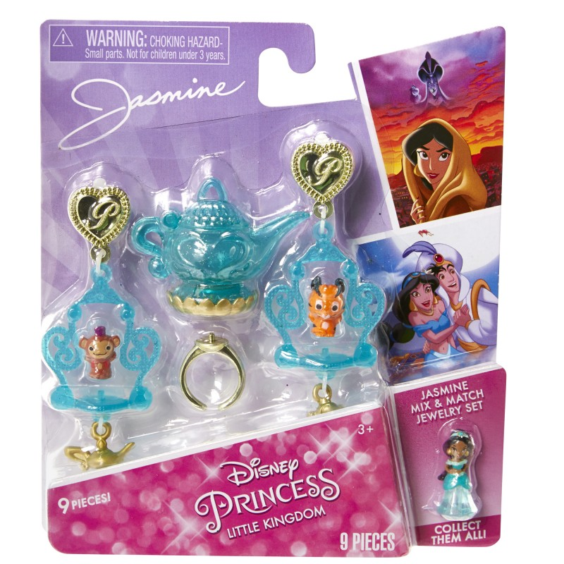 Set bijuterii asortate DP Little Kingdom, 3 ani+, model Jasmine 2021 shopu.ro