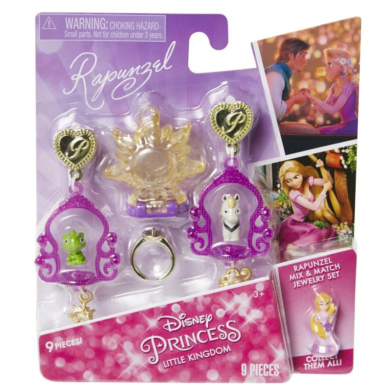 Set bijuterii asortate DP Little Kingdom, 3 ani+, model Rapunzel 2021 shopu.ro