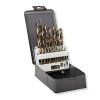 Set burghie pentru metal HSS Proline, 1-10 mm, 19 bucati