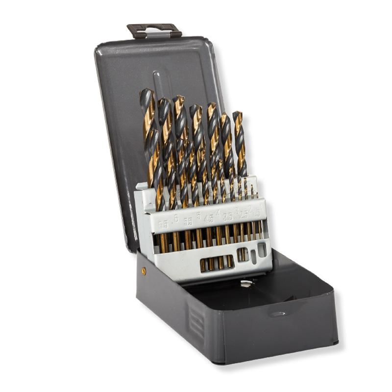 Set burghie pentru metal HSS Proline, 1-10 mm, 19 bucati shopu.ro