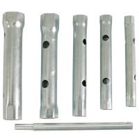 Set 6 chei tubulare duble Mega, tija operare, 8 - 17 mm