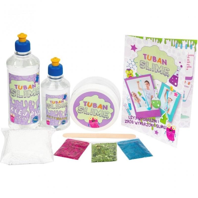 Set Creativ Slime Pro Tuban, 3 ani+, Multicolor 2021 shopu.ro