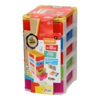 Set creativ Grafix Tower of Craft, cutie compartimentata cu sertare