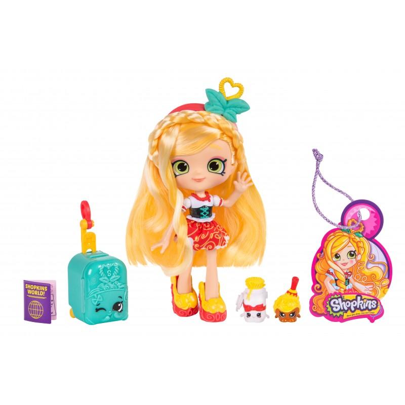 Papusa si accesorii Shoppies Spaghetti Sue, 5 ani+ 2021 shopu.ro