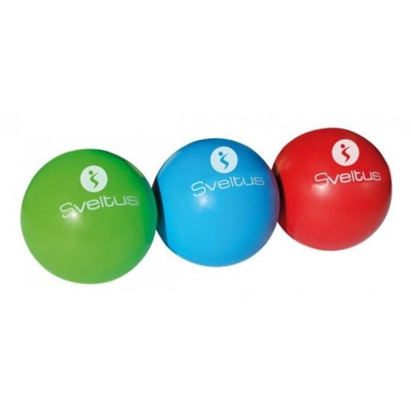 Set 3 mingi motricitate Sveltus, 5 cm, spuma memorie, Multicolor 2021 shopu.ro
