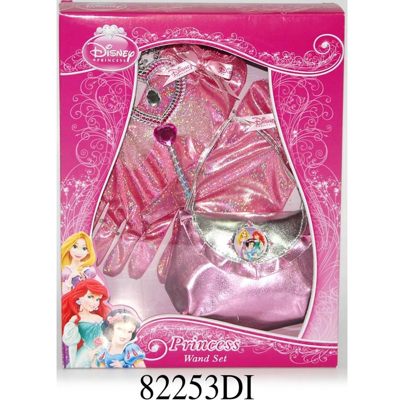 Set accesorii cu bagheta Disney 3 New Princess, 4 piese, 3 ani+ 2021 shopu.ro