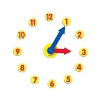 Set de activitati cu ceas Learning Resources, 6 x 28 cm, 5 - 9 ani