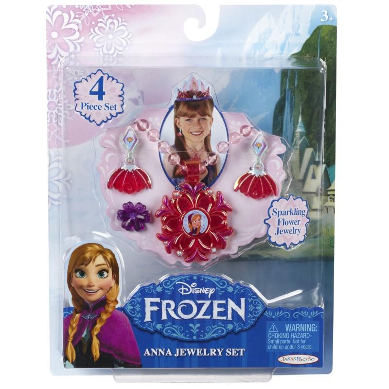 Set bijuterii pentru fetite Frozen Anna, 4 piese, 3 ani+ 2021 shopu.ro