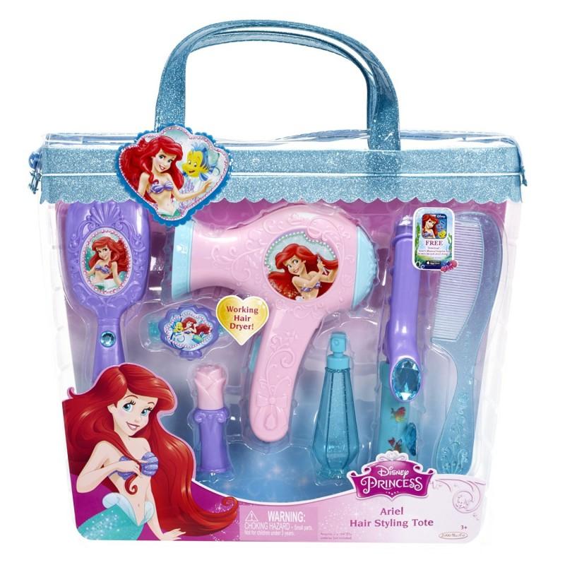 Set de coafura Printese Disney Ariel, 34 x 30 x 6 cm, 3 ani+ 2021 shopu.ro
