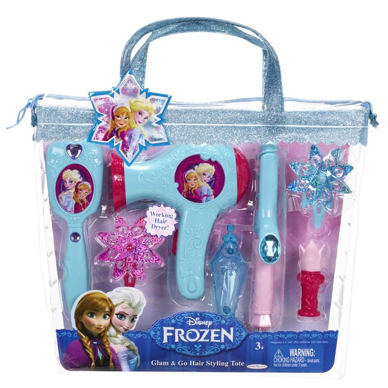 Set coafura Printese Disney Frozen, 34 x 30 cm, 3 ani+, Multicolor 2021 shopu.ro