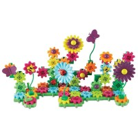 Set constructie Gears! Floral Learning Resources, 117 piese, 4 ani+
