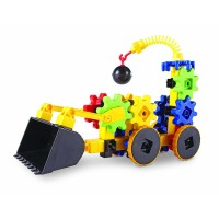 Set constructie Gears! Primul meu buldozer Learning Resources, 40 piese, 4 ani+