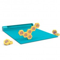 Jucarie educativa magnetica Plugo Link Shifu, set de constructie, gamepad incluns, 5-10 ani