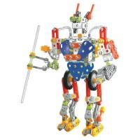 Set de construit Robot Tobar, 22 cm, 346 piese, 8 ani+