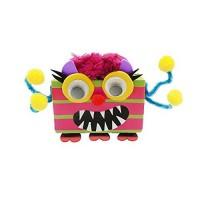 Set de creatie Cutie de suc cu monstruleti Keycraft, 6 ani+