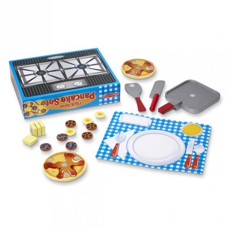 Set de joaca Pancake Melissa & Doug, 3 ani+ 2021 shopu.ro