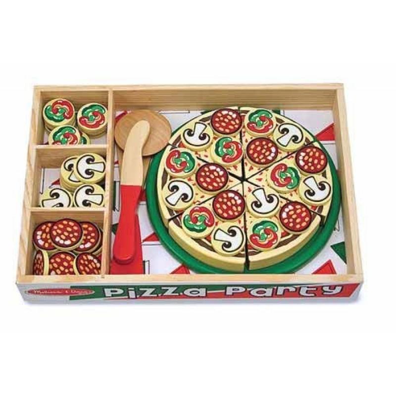 Set de joaca Pizza Party Melissa and Doug, 3 ani+ 2021 shopu.ro