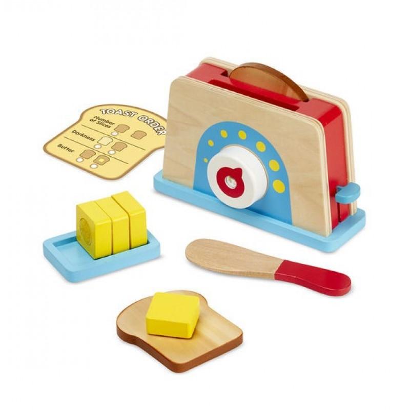 Set de joaca Toaster Melissa and Doug 2021 shopu.ro
